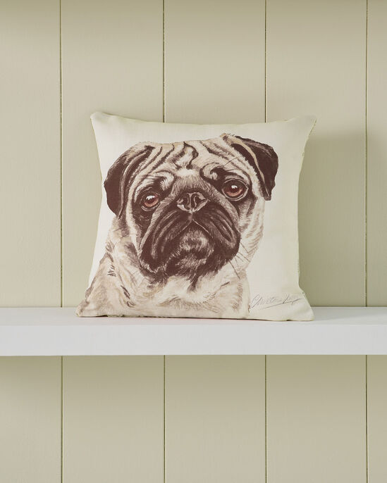 Waggy Dogz Pug Cushion