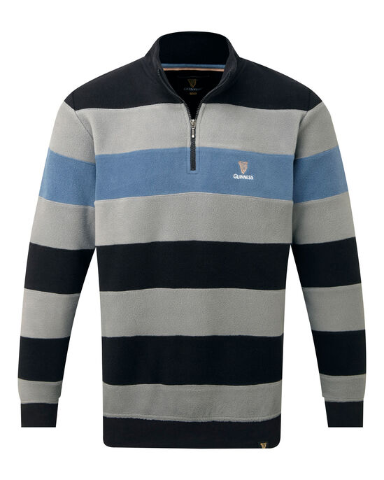 Guinness Half Zip Stripe Top