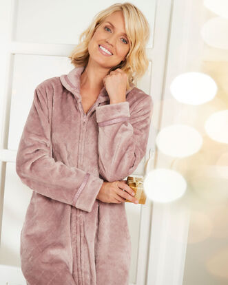 Fluffy Dressing Gown