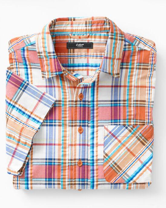 Mens Seersucker Shirt