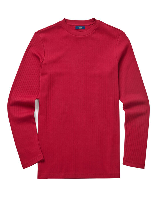 Crew Neck Drop Needle Top