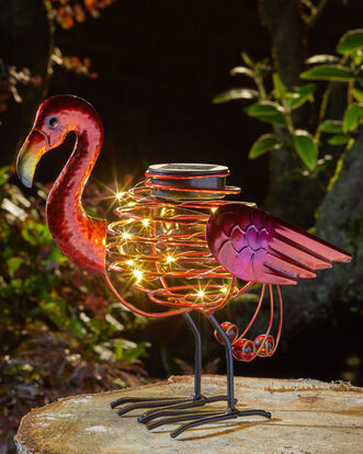 Exotic Bird Solar Ornament