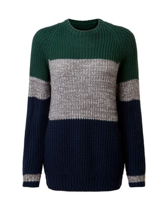 Alpine Green Supersoft Crew Neck Jumper