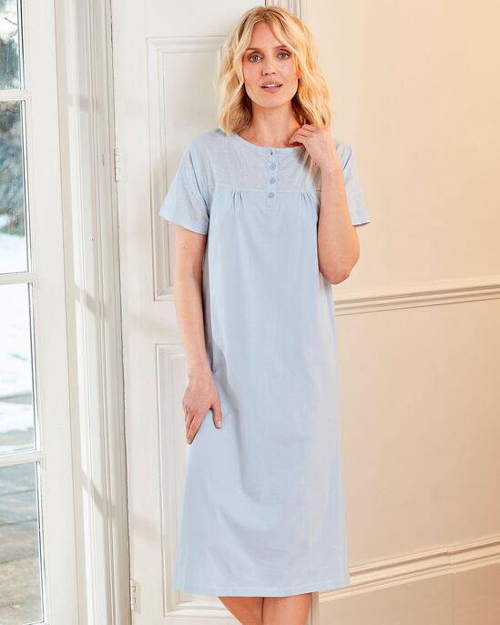 Broiderie Trim Nightdress