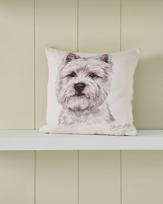 Waggy Dogz Westie Cushion