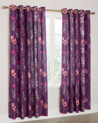 """Isobel Cotton Eyelet Curtains 66X72"""""""