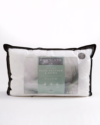 Pair of Anti Allergy Duck Feather and Down Pillows