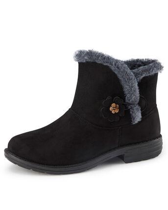 Flexisole Flower Detail Snug Boots