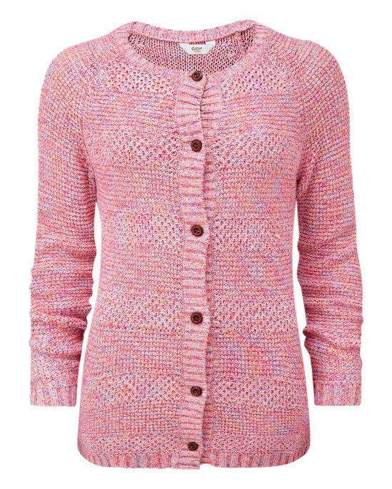 Textured Button Cardigan