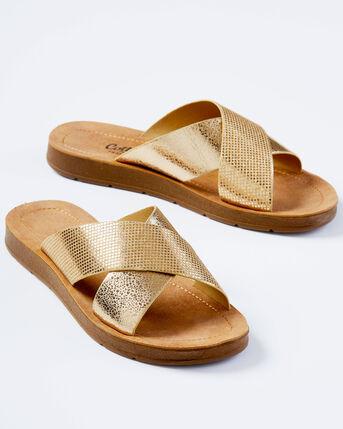 Cross Over Sandals