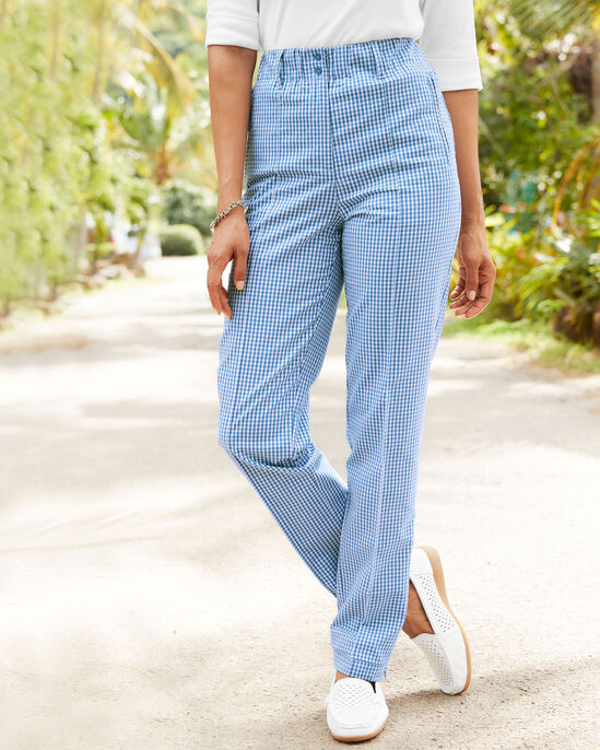 Elasticated Waist Stretch Trousers