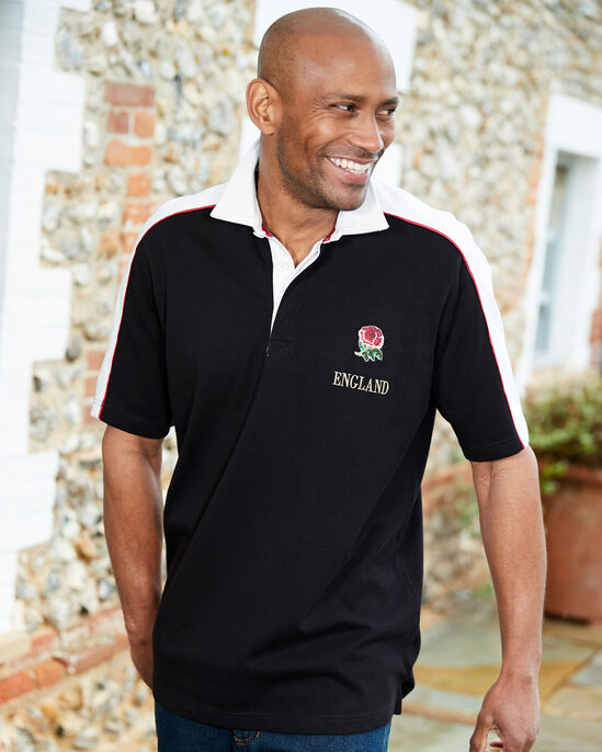 Guinness™ England Short Sleeve Classic Rugby Shirt