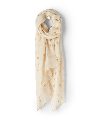 Metallic Star Scarf