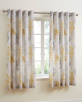 Meadowlands Eyelet Curtains 66x72""