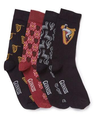 Guinness® Pack of 4 Logo Socks