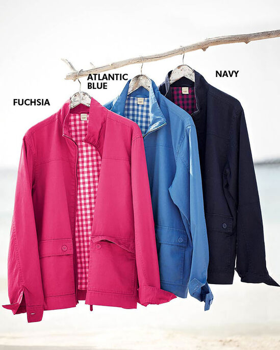 Check Lined Jacket