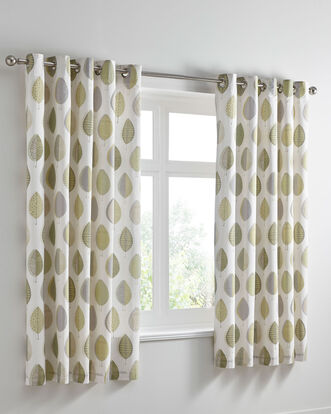 Sherwood Eyelet Curtains 66x72""
