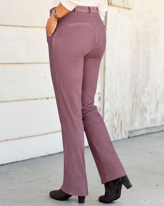 Adjustable Waist Cord Trousers