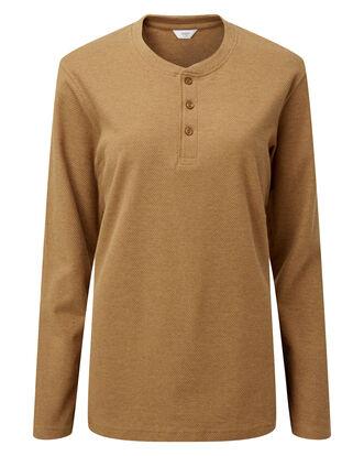 Long Sleeve Organic Grandad T-shirt