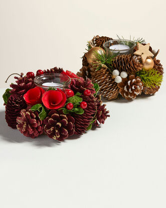 Single Tealight Wreath Holder