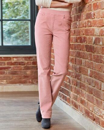 Premium Pull-on Rib Waist Jeans (Cord)