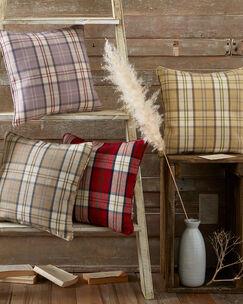 Highland Check Cushion