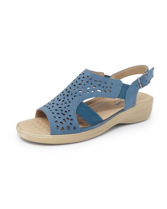 Flexisole Cutwork Sandals