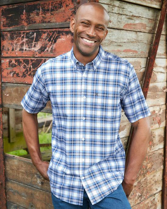 Short Sleeve Oxford Check Shirt