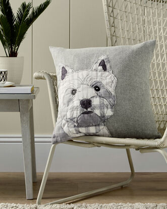 Westie Craft Cushion