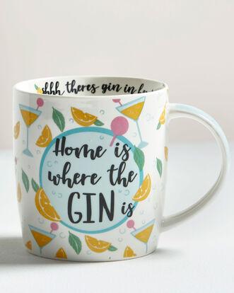 Home Is Where the Gin Is Mug