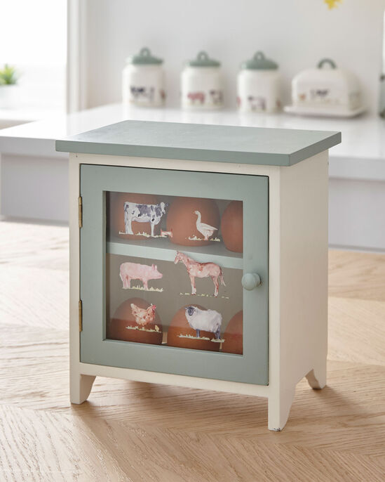 Country Farm Egg Cabinet