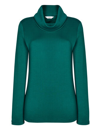 Cosy-Up Long Sleeve Cowl Neck Top