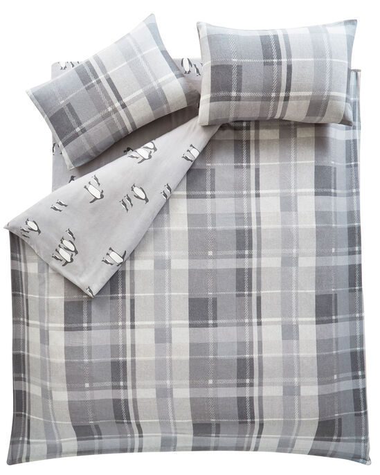 Lomax Check Brushed Cotton Duvet Set