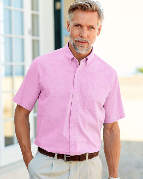 2c97846e4e1 Short Sleeve Classic Oxford Shirt at Cotton Traders