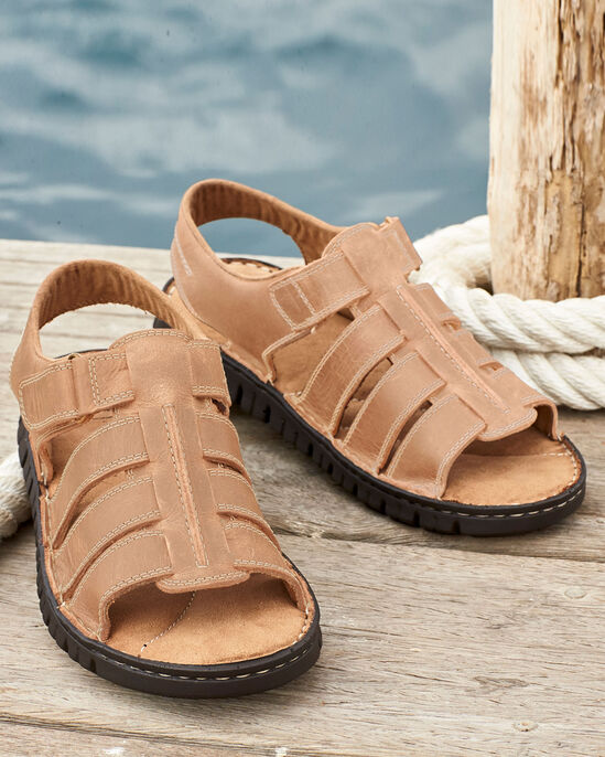 Leather Trekker Sandals