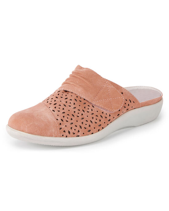 Lightweight Cushion Support Slip-on Mules