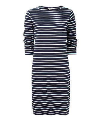 Wrinkle Free Stripe Dress