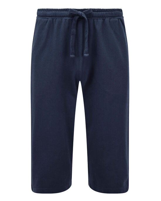 Pique Crop Trousers