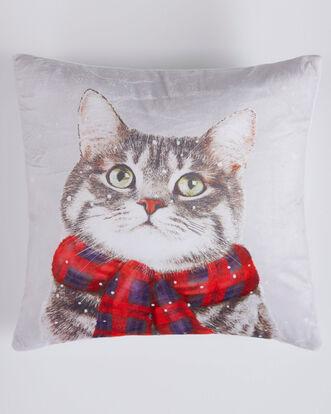 Winter Cat Cushion