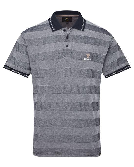 Guinness® Tonal Stripe Polo Shirt
