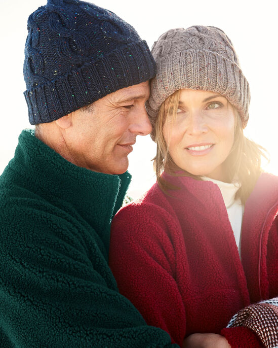 Waterproof Cable Knit Hat at Cotton Traders 00227f7ad2f