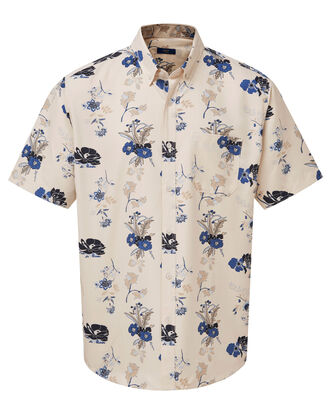 Almond Print Short Sleeve Soft Touch Shirt