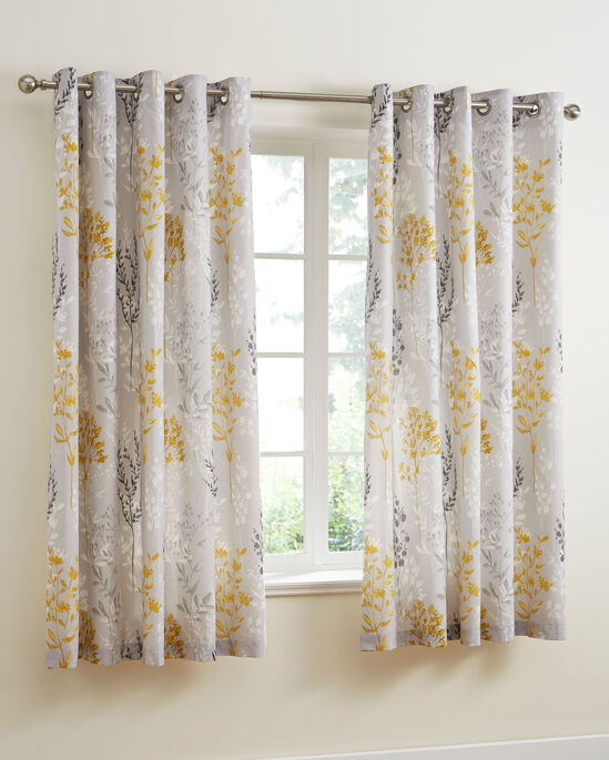 """Meadowlands Eyelet Curtains 66x72"""""""