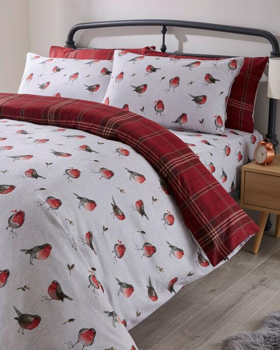 Robin Tartan Brushed Cotton Duvet Set
