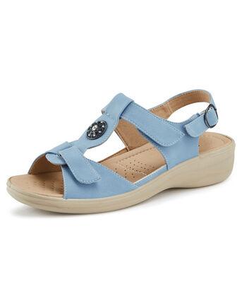 Flexisole Embellished Adjustable Sandals