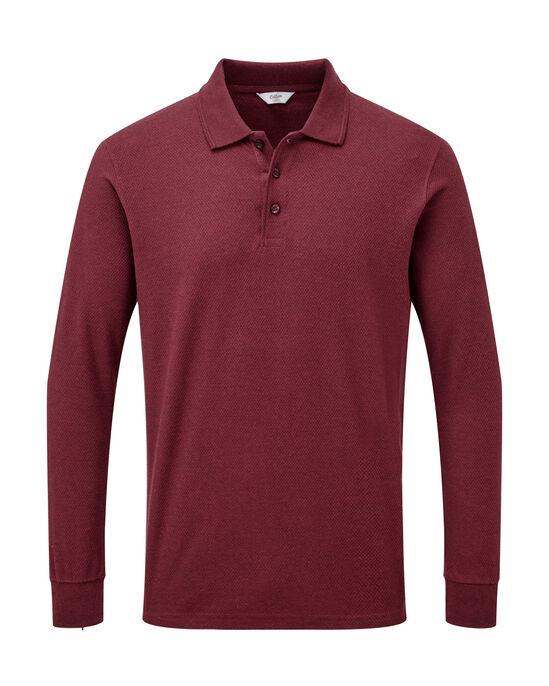 Long Sleeve Organic Polo Shirt