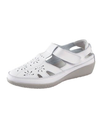 Leather Flexisole Adjustable Shoes