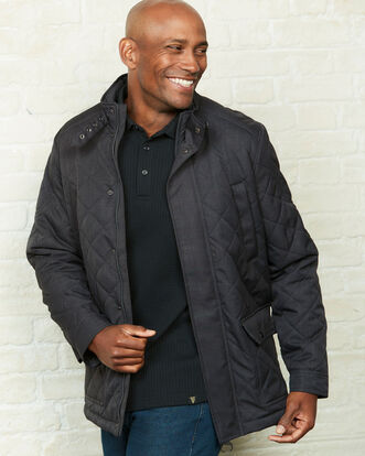 Guinness Showerproof Quilted Jacket