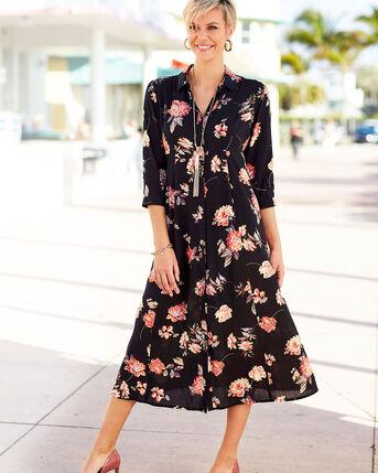 Frockstar Button-through Long Dress