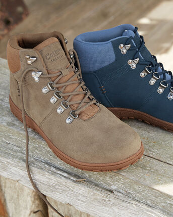 Suede Walking Boots